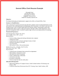 Postal Clerk Resume Sample Sample Resume Office Clerk sraddme 12