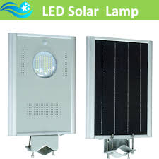 12w all in one integrated solar street light led garden lamp lights outdoor lighting with 18v