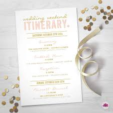 Wedding Itinerary Wedding Weekend Itinerary Wedding Day Timeline Digital File 12