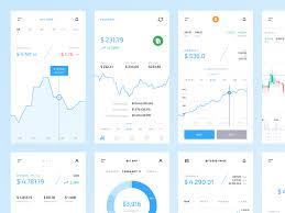 Crypto Mobile Ui Kit Graphs Charts Freebie Download
