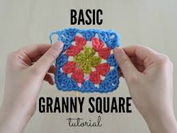 Basic Granny Square Pattern Custom Tutorial Tuesday The Basic Granny Square Just Be Crafty