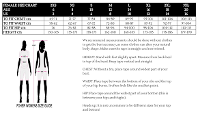 Sizing Guide Foher Co