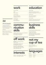 Good Design Resume