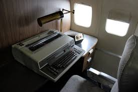 air force 1 office. Old Typewriter On Air Force One 1 Office