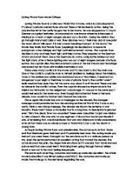the notebook essay okl mindsprout co the notebook essay