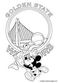 modern golden state warriors coloring pages embellishment framing