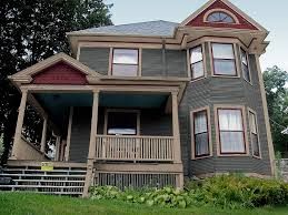 exterior house color combination. new victorian exterior paint color scheme and corrected placement house combination