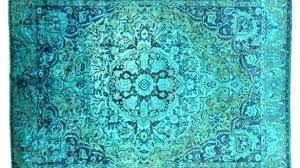 over dyed rug blue rug contemporary club with regard to overdyed rugs canada