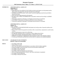 Dental Assistant Resume Template Dental Assisting Resume Assistant Examples Cover Letter 100 70