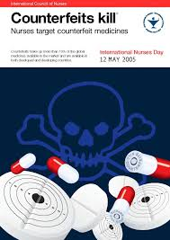 Fight The Poster Medicines Fake Nurses Target Fakes