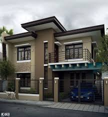 Neat House Designs Simple Neat And Clean Facade House Modern House Plans