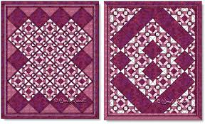 Folded Corners Quilt Block Pattern · My Essential Passions & Quilts designed using the Folded Corners quilt block Adamdwight.com