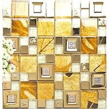 tile sheets stainless steel glass tile mosaic sheets metal gold wall tiles for kitchen and bathroom metallic black