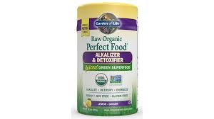 garden of life raw organic perfect food alkalizer detoxifier this organic greens formula supports