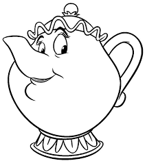Small Picture 33 best beauty and beast coloring pages images on Pinterest