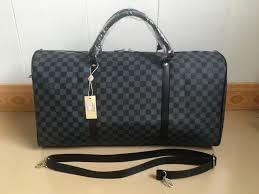 2019 1flouis vuitton 1 handbags men leather luggage bag duffle bag for women shoulder bags tote travel bags keepall 55 n41350 louis from guodanian