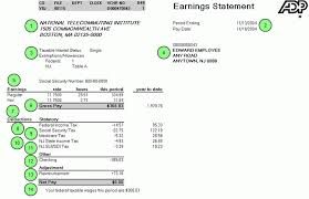 paystub sample 5 adp pay stub example credit letter sample