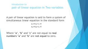 gebze technical university department of architecture ppt introduction to pair of linear equation in two