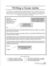 Resume Example Cover Letter Internship How To Write A And For Job