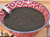 chinese black sesame seed porridge geema woo
