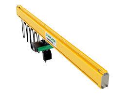 Monorail Crane Beam Design Steel Lightweight Monorail Crane System Modular Design