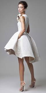 best 25 short wedding gowns ideas
