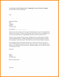 Letter Of Intent For Resume Templates