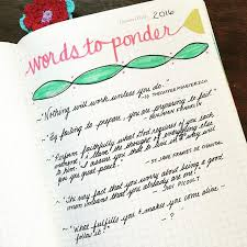 is journaling a word bullet journal revolution of love