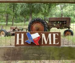 rustic texas home sign texas home rustic home sign texas