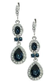 royal blue chandelier earrings blue crystal chandelier earrings blue crystal chandelier navy