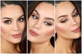 romantic eye makeup for daytime