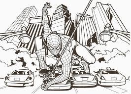 Coloriage Magique Spiderman En Ligne Coloriage Gratuit Colorier