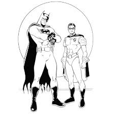 Small Picture Printable 17 Batman and Robin Coloring Pages 8553 Batman And