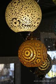Mozaïek Lampen 1001 Sfeerverlichting Turks Marokkaans Design India