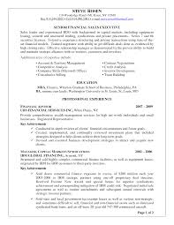 Certified Financial Planner Resume Financial Advisor Resume Cover Letter Examples Krida 13