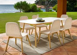 round garden dining table detailed images