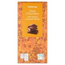 Waitrose Dark <b>Chocolate</b> with <b>Salted Caramel</b> | Waitrose & Partners