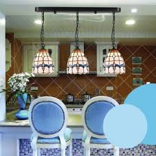 Black Long Base 24 Inch Hanging Pendant Lighting In Tiffany Stained Glass  Style Design Ideas
