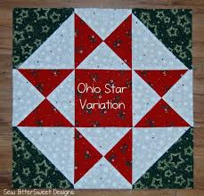 121 best Quilts - Ohio Star images on Pinterest | Quilt patterns ... & Christmas Sampler Quilt #13 - Ohio Star Variations Block Tutorial on Sew  Bitter Sweet Designs Adamdwight.com