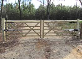wood farm fence gate. The Cambridge Five Bar Double Wood Gate With Operators Farm Fence A