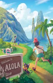 The outskirts of Hau'oli City, on route 1, Alola, it's the number one route  on the spectrum! (This beautiful path filled with… in 2020   Pokemon alola,  Pokemon, Pokemon sun