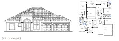builder house plans. ST. THOMAS Builder House Plans N