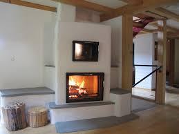 Kachelofen Mit Original Biofire System Für Wärme
