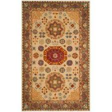 heritage beige multi 4 ft x 6 ft area rug
