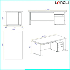 amusing steel frame office computer desk dimensions standard size large size inovative office standard office table