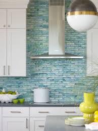 kitchen backsplash glass tile blue. Pretentious Blue Tile Backsplash Kitchen Creative Ideas Cheap Glass Decor Beach Style