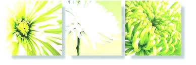 lime green canvas wall art