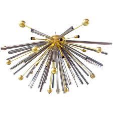 sputnik flush mount crystals and brass sputnik flush mount by semi flush mount sputnik chandelier