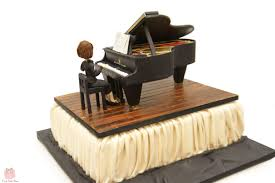 Grand Piano Birthday Cake