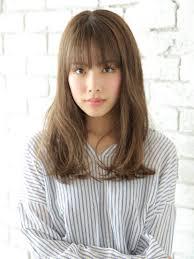 ゆるふわロング美容室バズヘアーbuzzhair 髪型前髪バッサリ